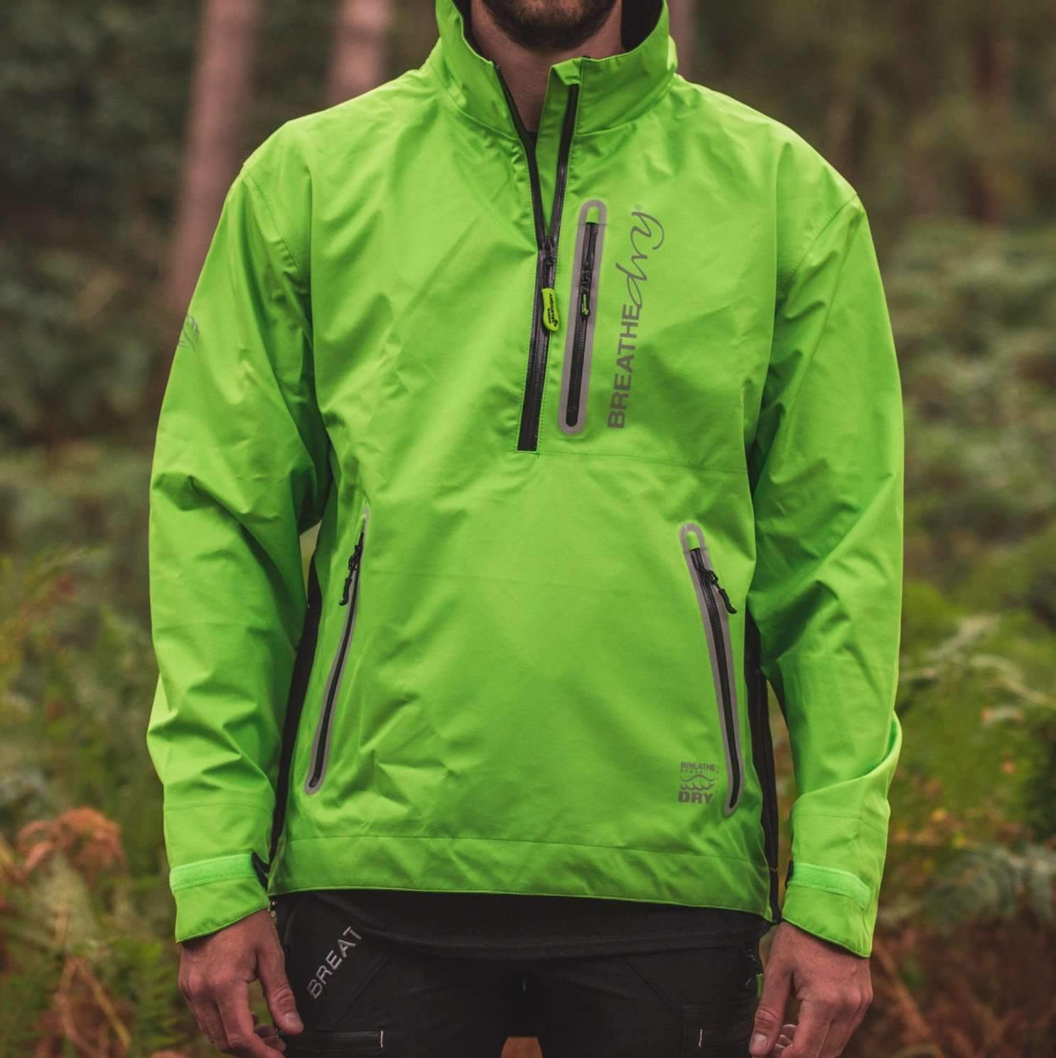Arbortec BreatheDry® Waterproof Smock - Lime - AT4400