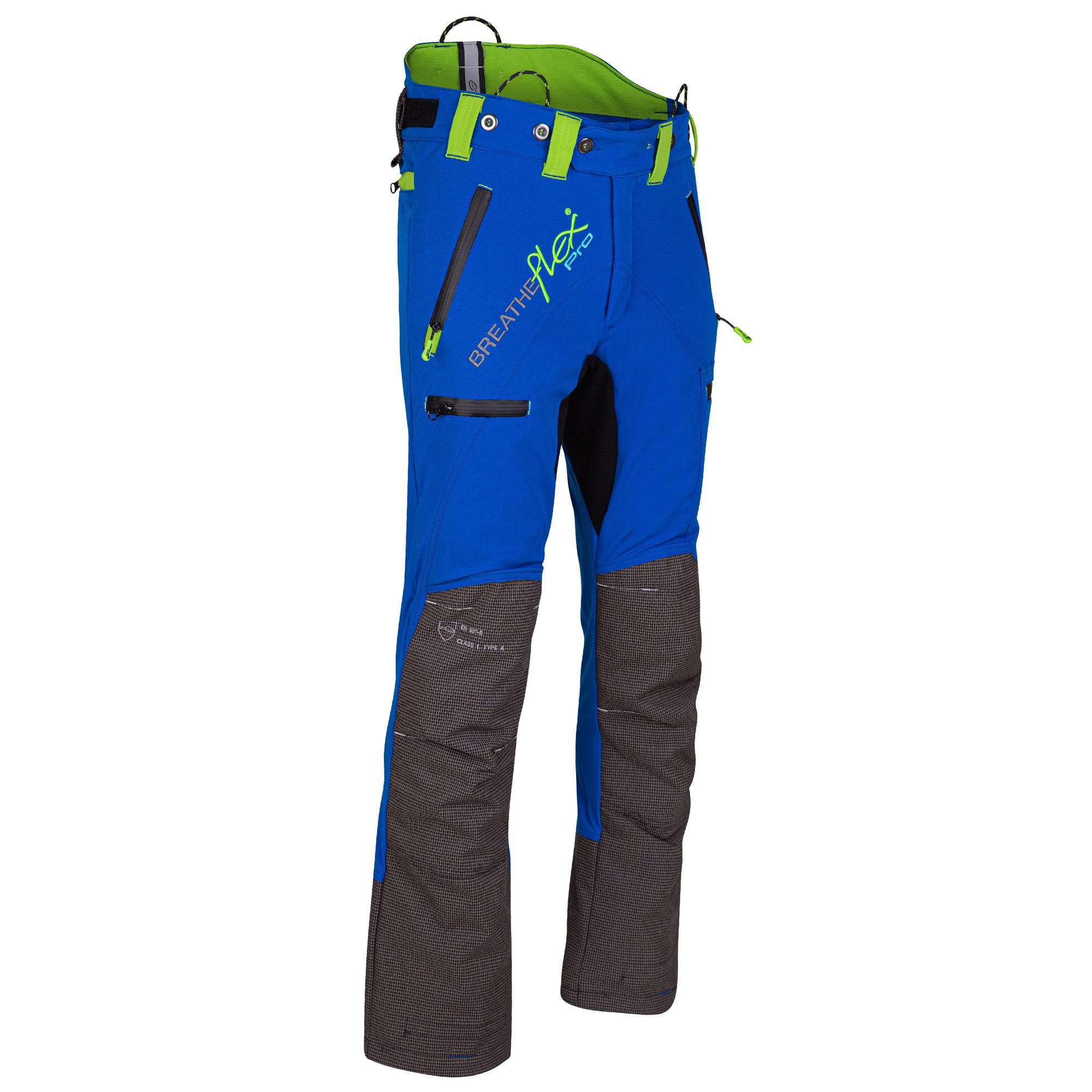 AT4070 Breatheflex Pro Type C Class 1 Chainsaw Trousers - Blue