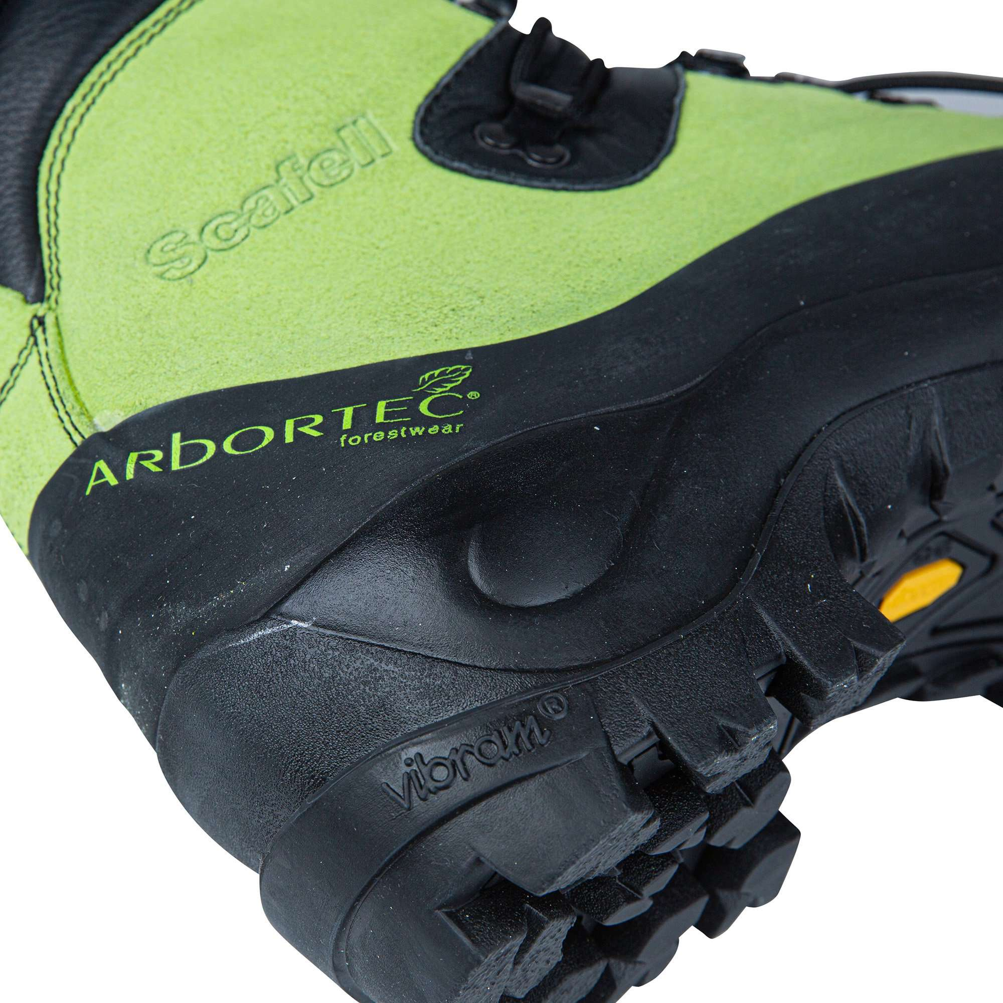Scafell Chainsaw Boot - Green - AT30000