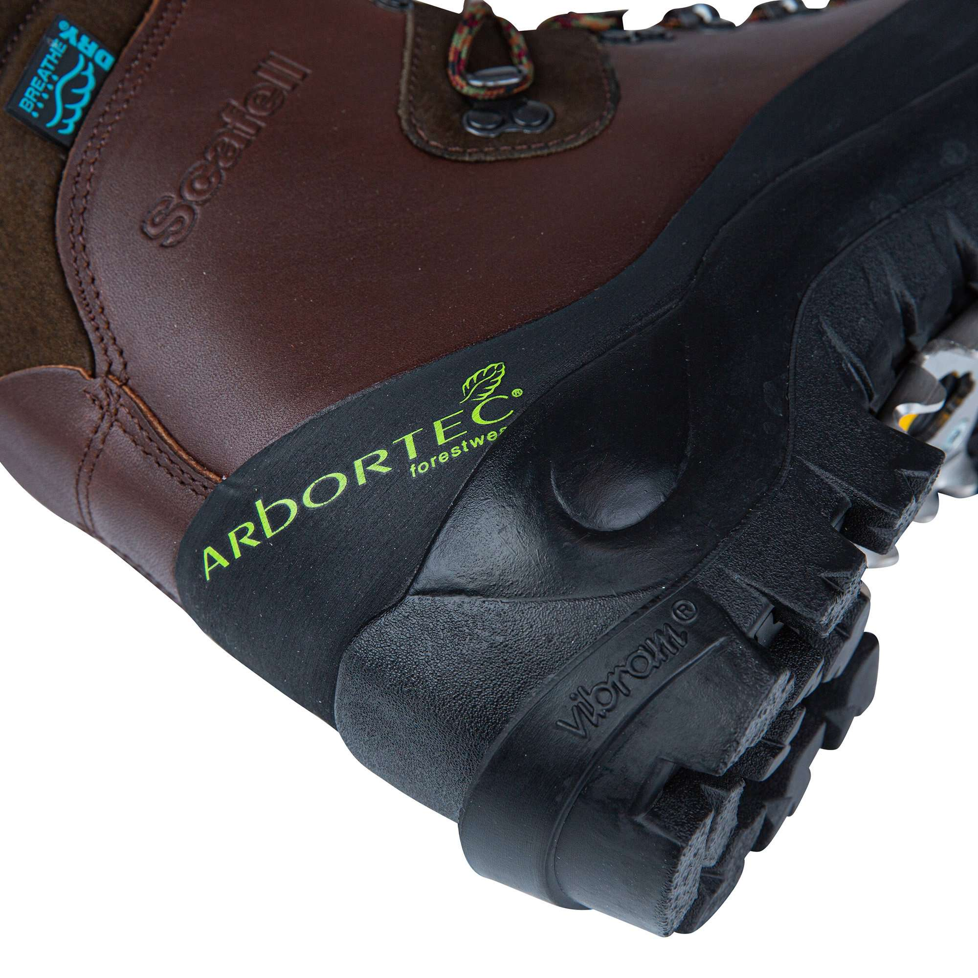 Scafell Chainsaw Boot - Brown - AT30200 - Arbortec Forestwear