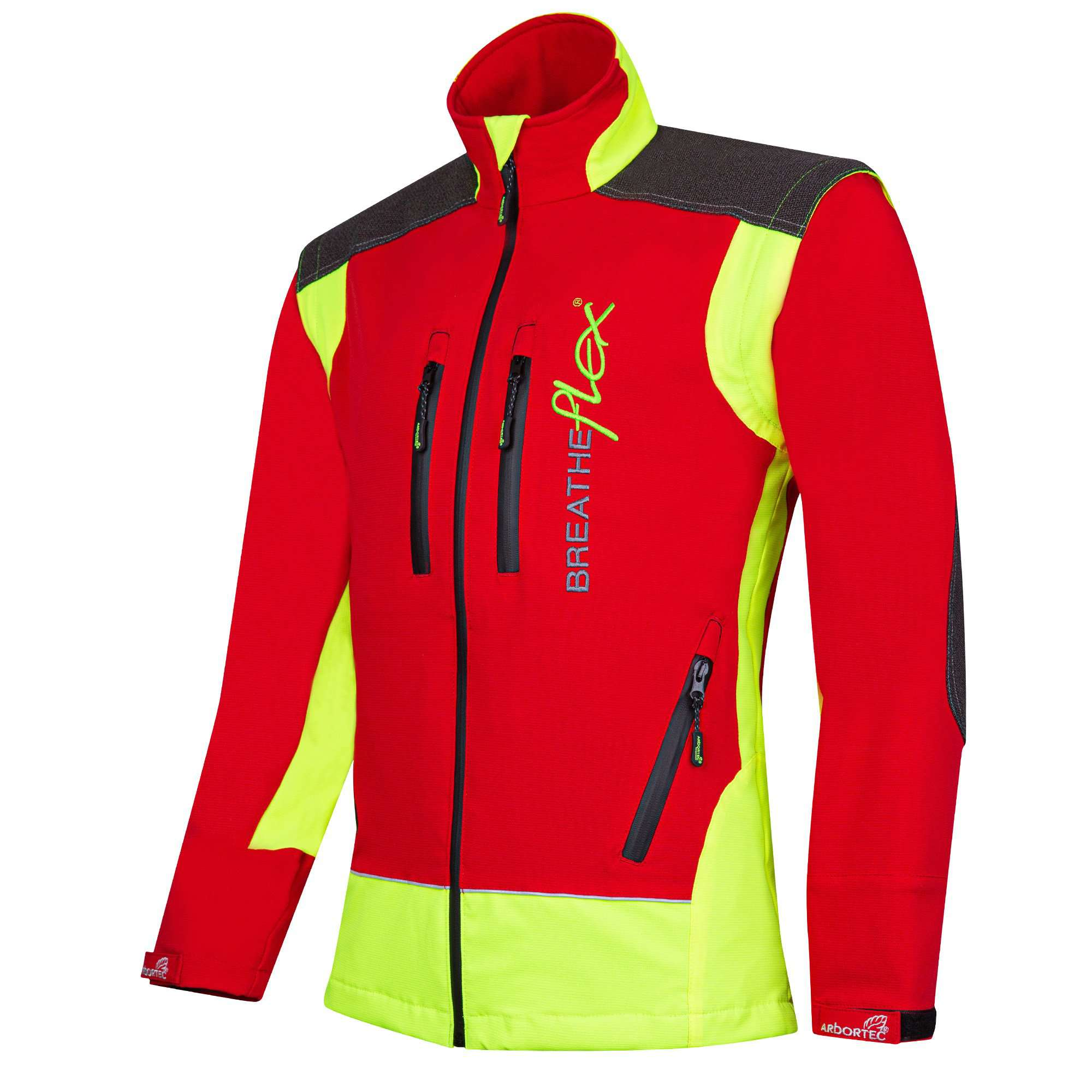 AT4000 Breatheflex Performance Work Jacket  - Red - Arbortec Forestwear