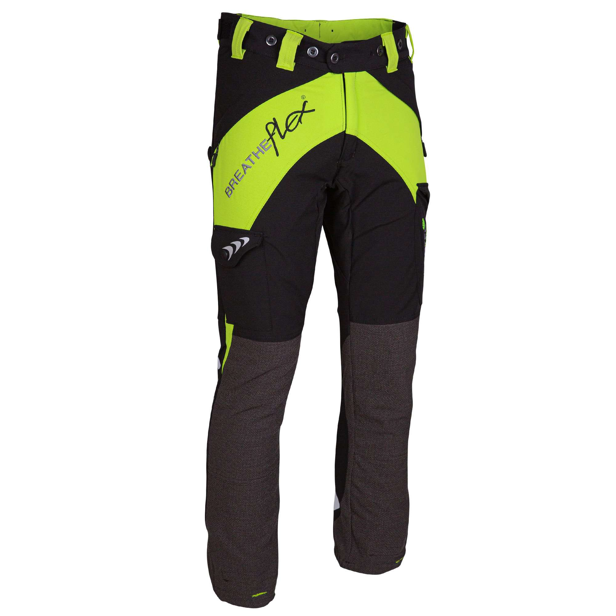 AT4010 Breatheflex Ladies Type A Class 1 Chainsaw Trousers - Lime