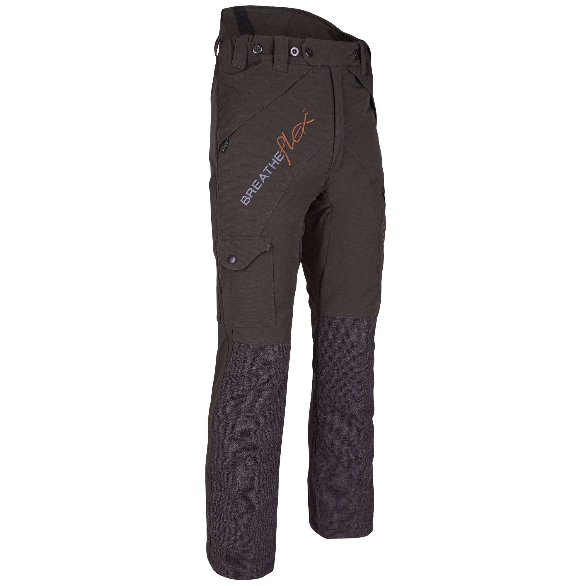 AT4050 Breatheflex Type C Class 1 Chainsaw Trousers - Olive - Arbortec Forestwear