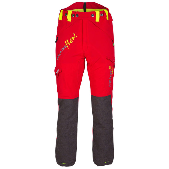 AT4050 Breatheflex Type C Class 1 Chainsaw Trousers - Red