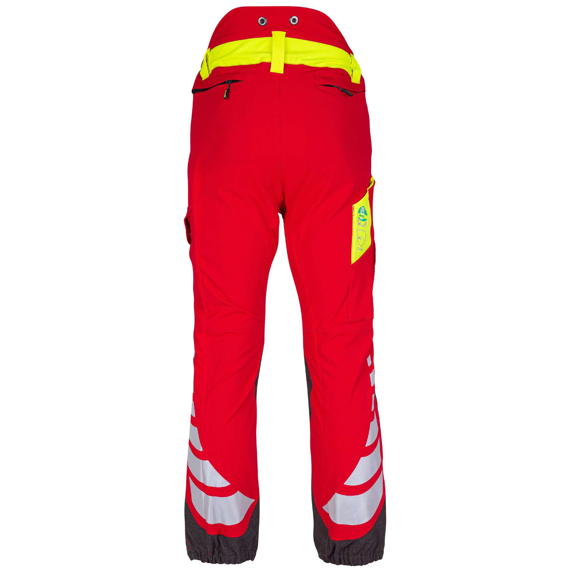 AT4050 Breatheflex Type C Class 1 Chainsaw Trousers - Red - Arbortec Forestwear