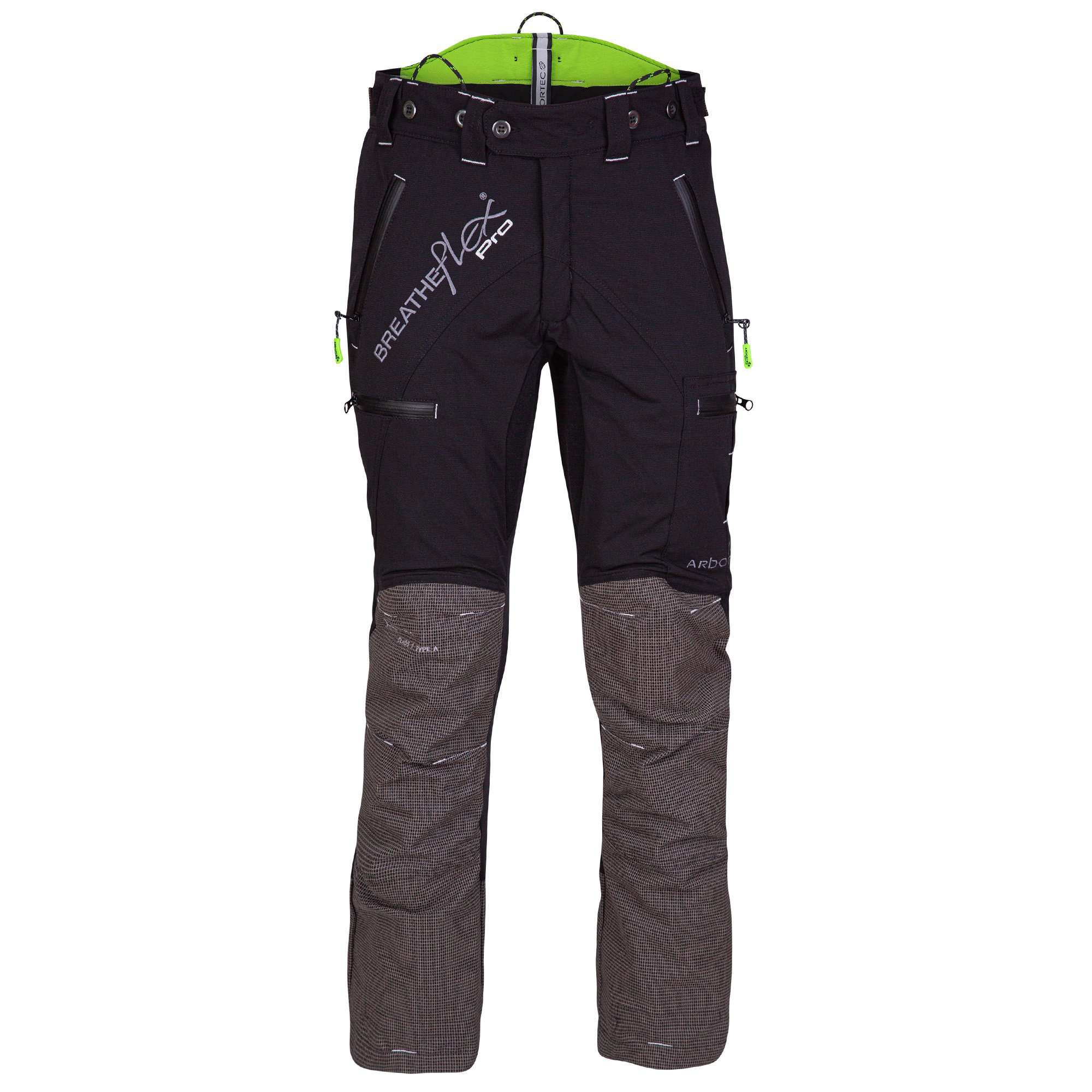 AT4060 Breatheflex Pro Type A Class 1 Chainsaw Trousers - Black - Arbortec Forestwear