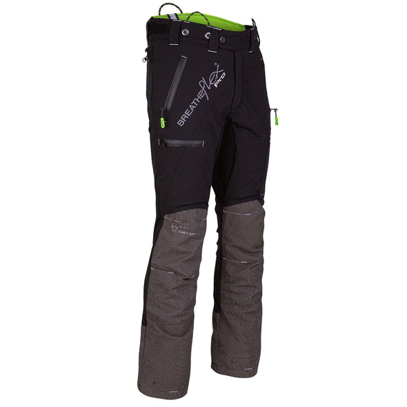 AT4070 Breatheflex Pro Type C Class 1 Chainsaw Trousers - Black