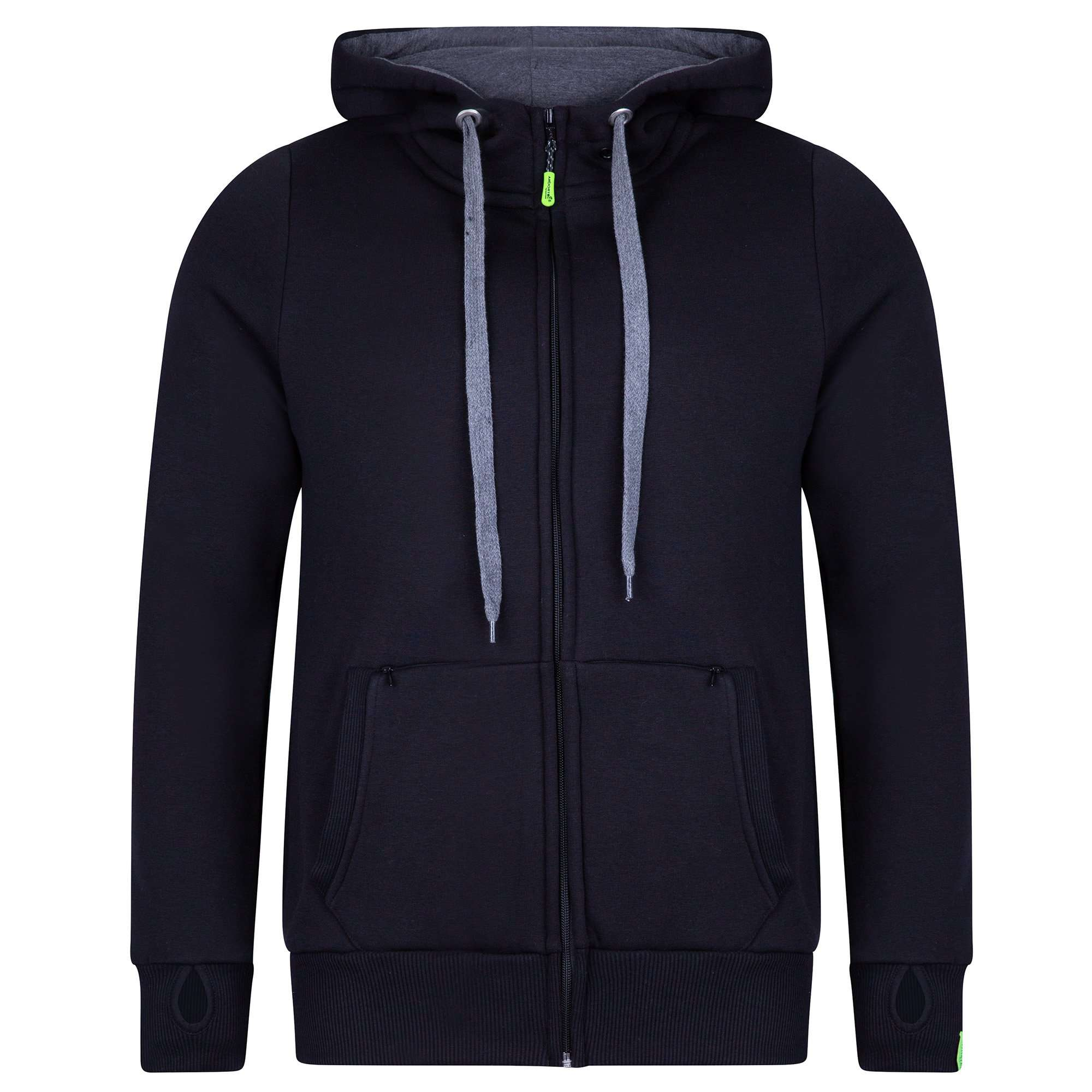 AT5020 Arbortec Zip Hoodie - Black - Arbortec Forestwear