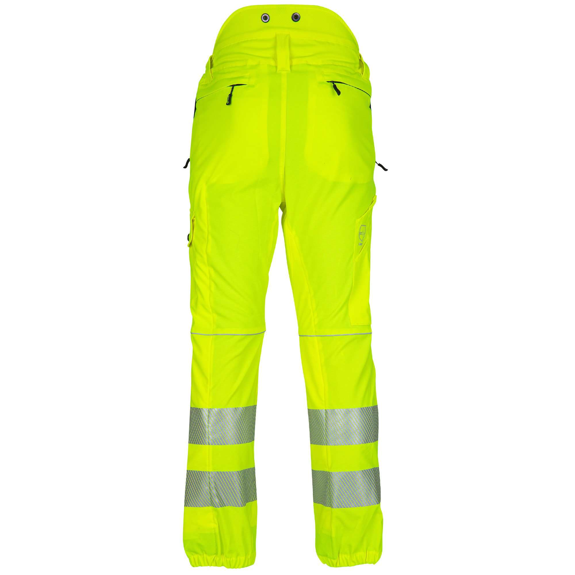 ATHV4050 Breatheflex Type C Class 1 Chainsaw Trousers - Hi-Viz Yellow