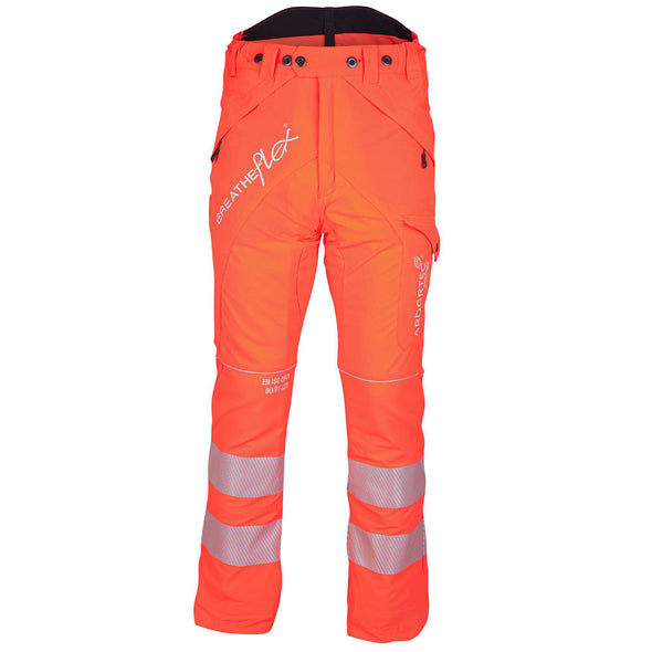 ATHV4010 Breatheflex Type A Class 1 Chainsaw Trousers - Hi-Vis Orange