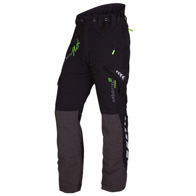 AT4010 Breatheflex Type A Class 1 Chainsaw Trousers - Black
