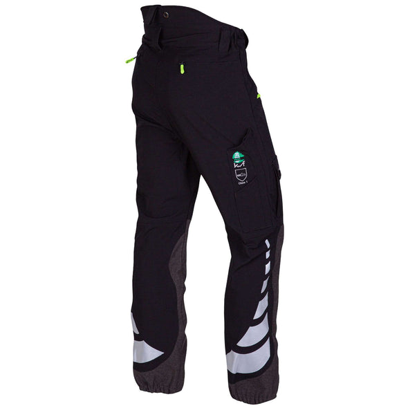 AT4050 Breatheflex Type C Class 1 Chainsaw Trousers - Black