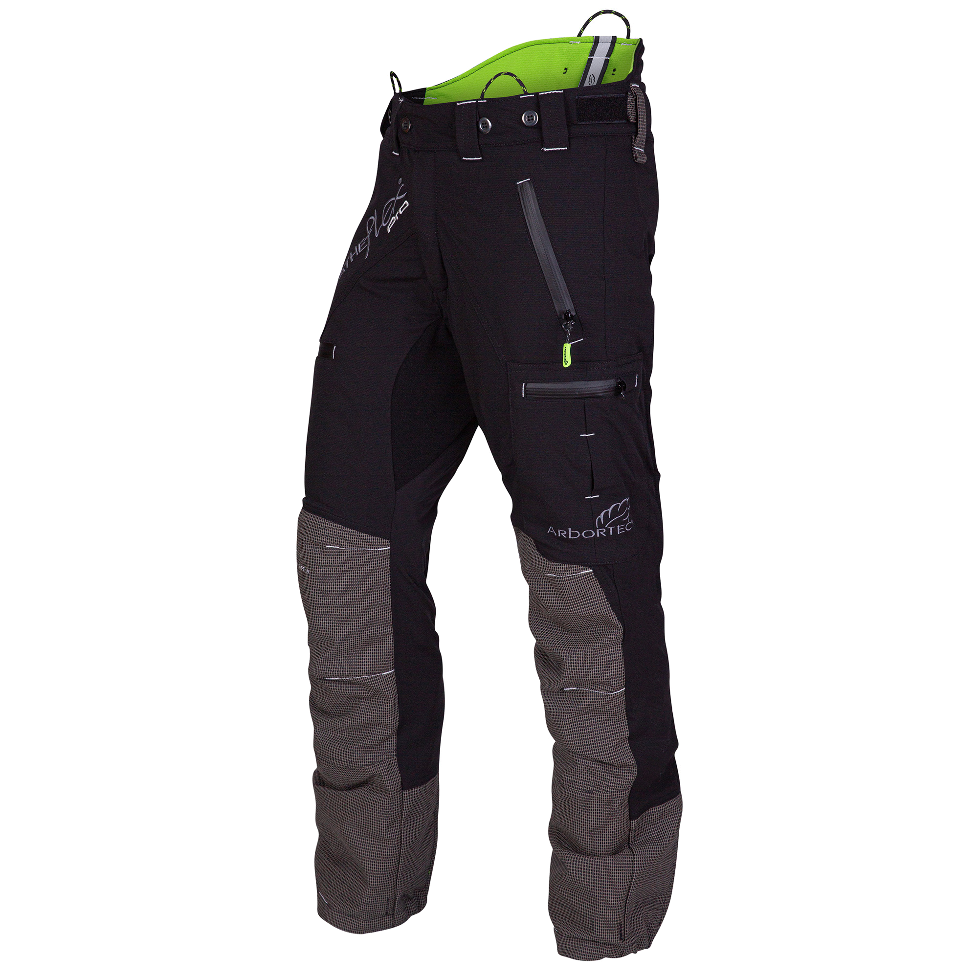 AT4060 Breatheflex Pro Type A Class 1 Chainsaw Trousers - Black