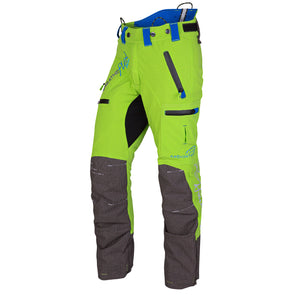AT4060 Breatheflex Pro Type A Class 1 Chainsaw Trousers - Lime