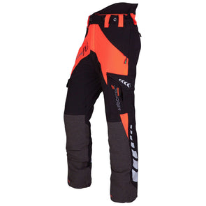 AT4050 Breatheflex Type C Class 1 Chainsaw Trousers - Orange