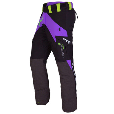 AT4050 Breatheflex Ladies Type C Class 1 Chainsaw Trousers - Purple