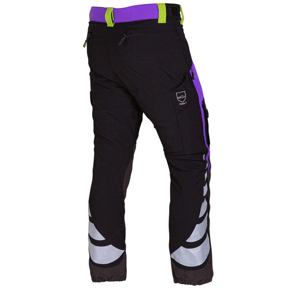 AT4010 Breatheflex Ladies Type A Class 1 Chainsaw Trousers - Purple