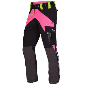 AT4010 Breatheflex Ladies Type A Class 1 Chainsaw Trousers - Pink