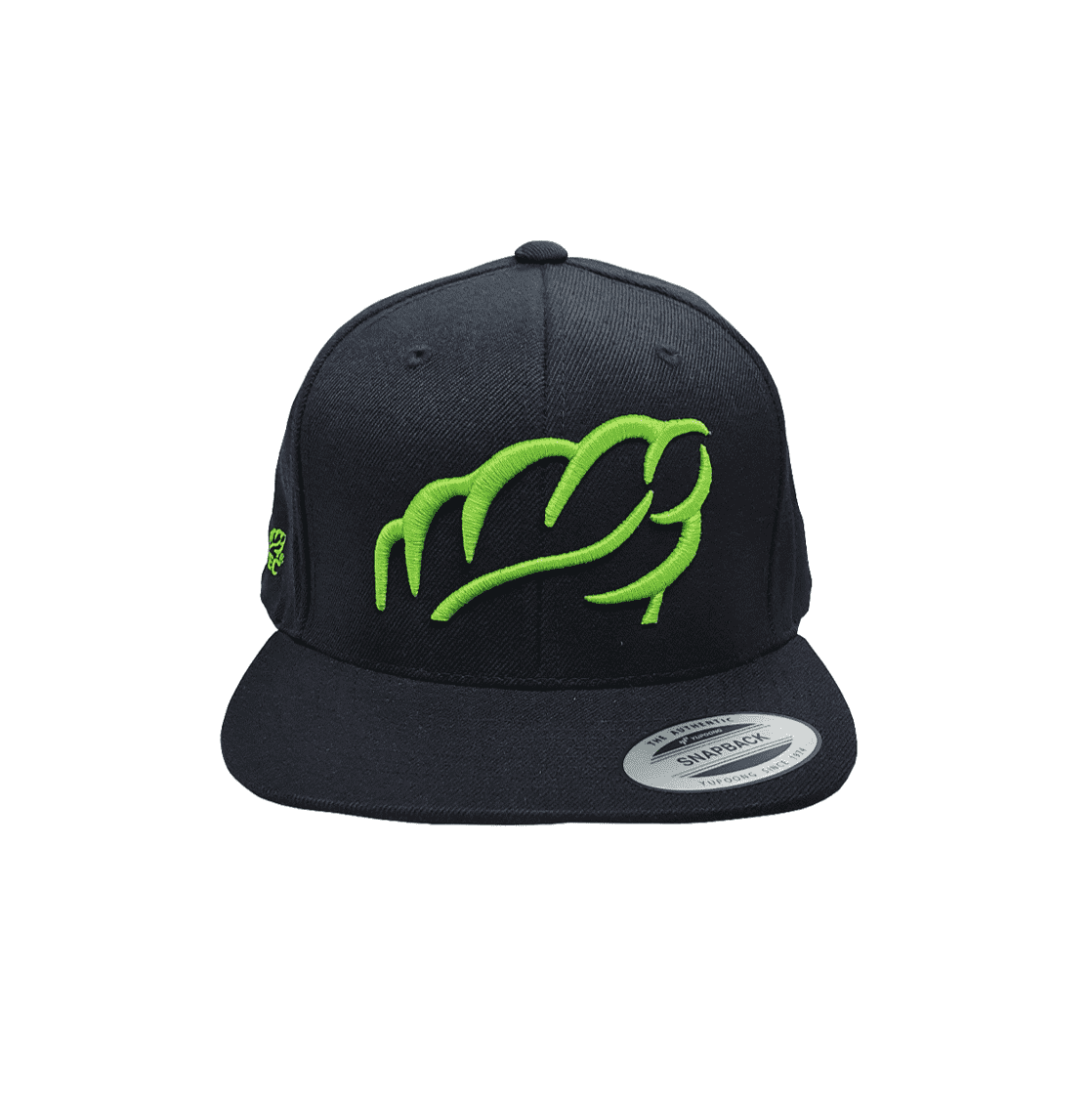 AT0047 Lime Snap Back Cap - Arbortec Forestwear