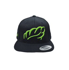 AT0047 Lime Snap Back Cap
