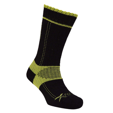Xpert Lo Sock - Black / Lime