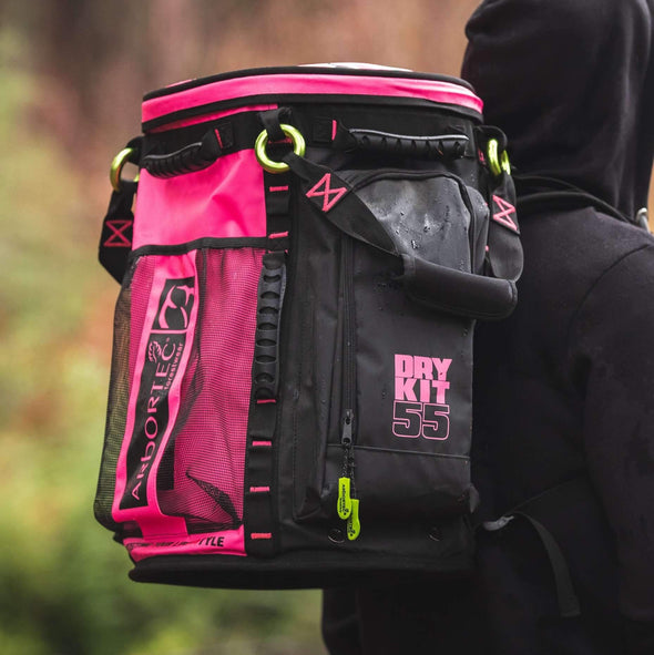 Cobra Rope Bag - Pink 55L