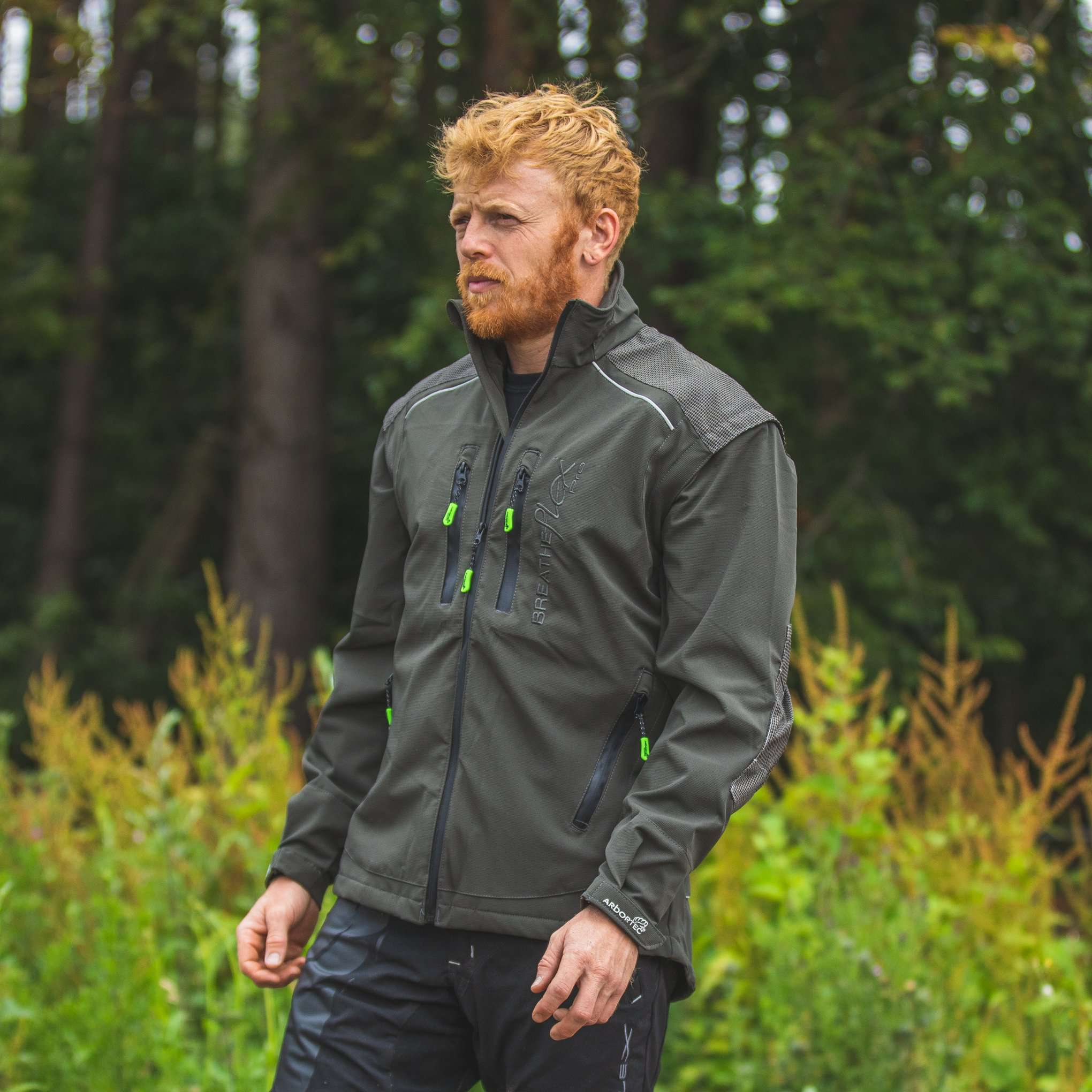 AT4100 Breatheflex Pro Work Jacket - Olive