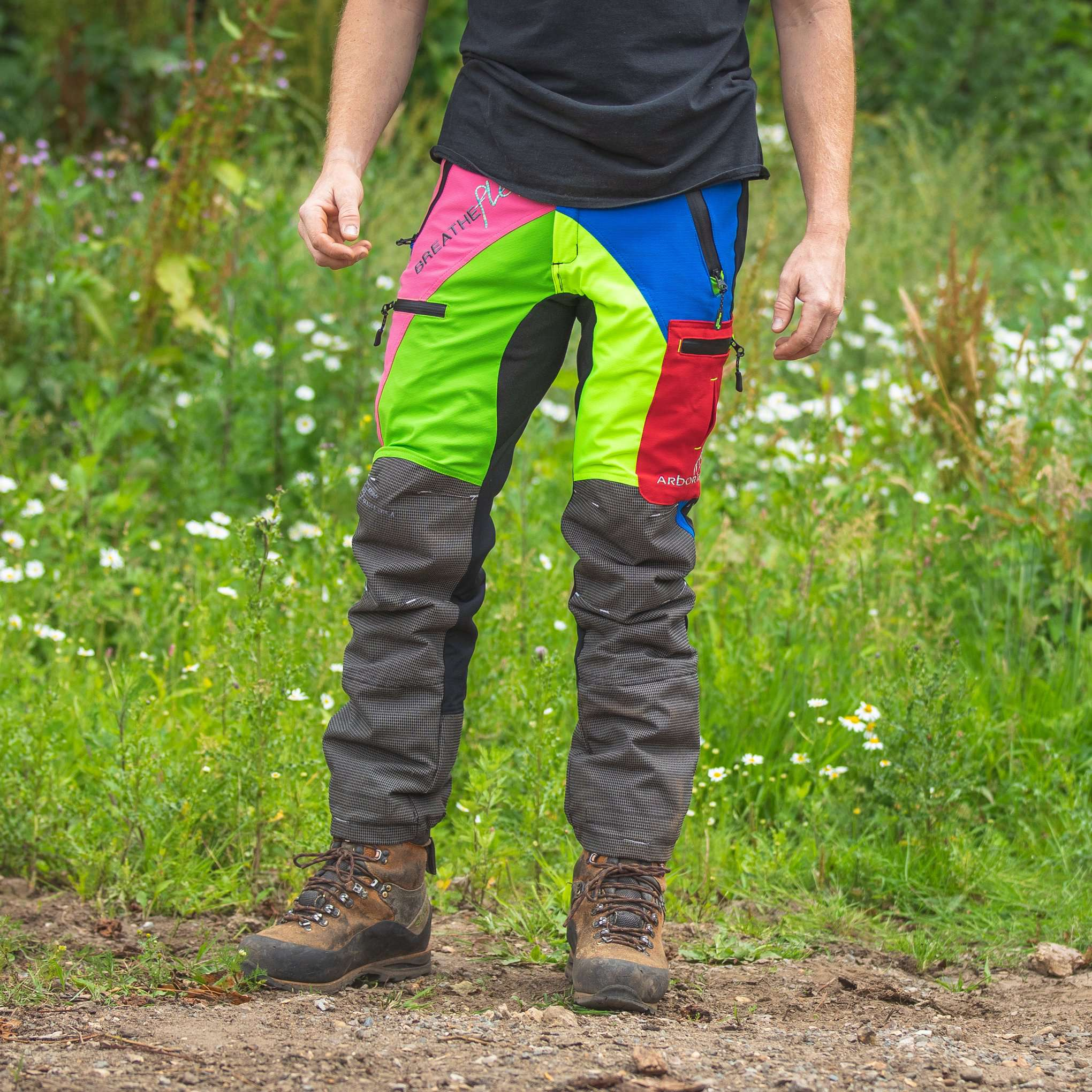 AT4070 Breatheflex Pro Type C Class 1 Chainsaw Trousers - Multi Colour - Arbortec Forestwear
