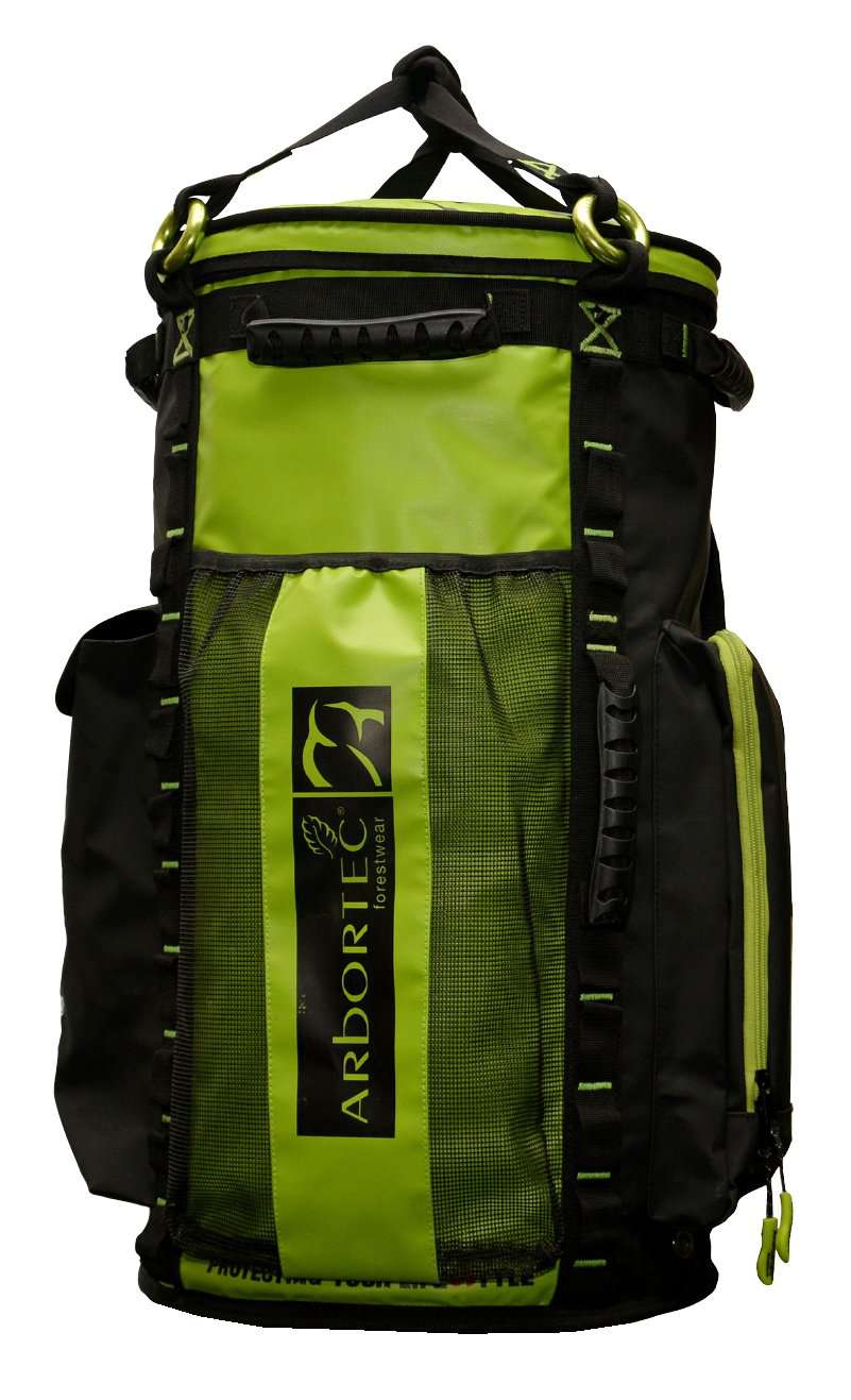 AT107-65 Cobra Rope Bag - Lime 65L - Arbortec Forestwear