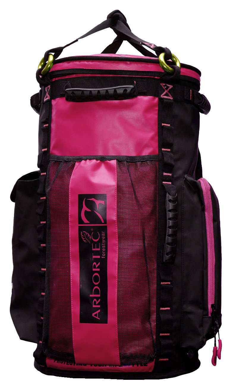 AT107-65 Cobra Rope Bag - Pink 65L - Arbortec Forestwear