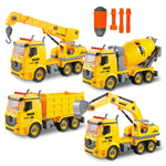 4 In 2 DIY Construction Trucks