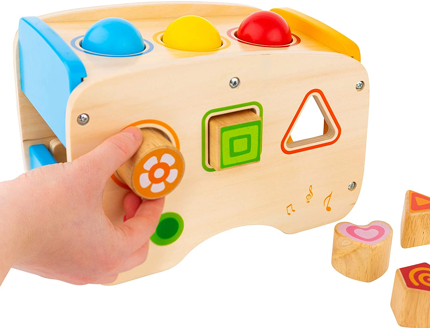 Wooden Hammering & Pounding Toy