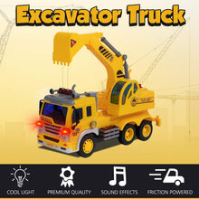 Load image into Gallery viewer, Friction Excavator Truck