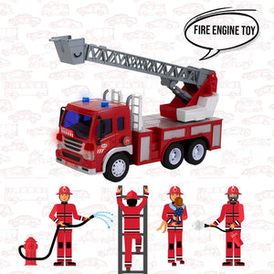 Friction Fire Truck