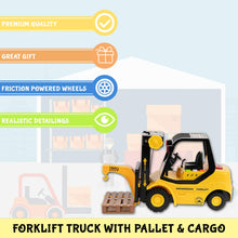 Load image into Gallery viewer, Friction Forklift Truck