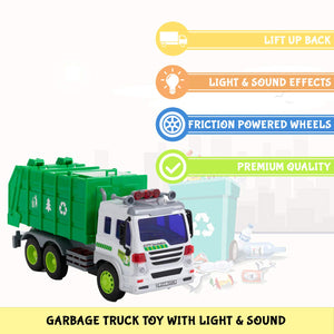Friction Garbage Truck
