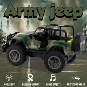 Friction Military Jeep