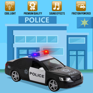 Friction Police Car