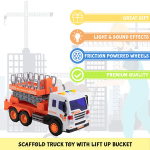 Friction Scaffold Bucket Lift Truck