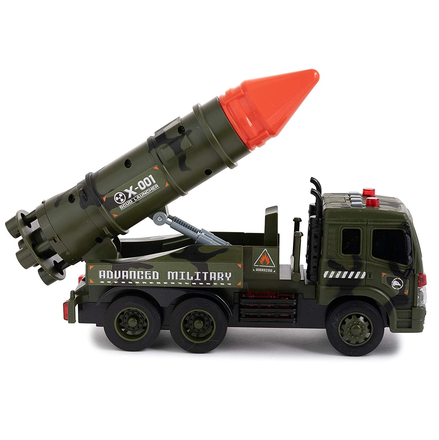 Friction Army Truck