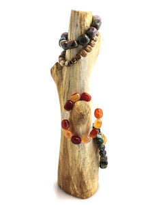 Petrified Wood Standing Branch