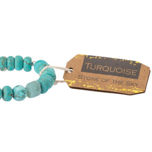 Load image into Gallery viewer, Turquoise Stone Bracelet - Stone of the Sky