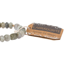 Load image into Gallery viewer, Labradorite Stone Bracelet - Stone of Magic