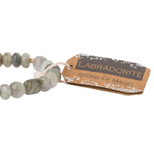Labradorite Stone Bracelet - Stone of Magic