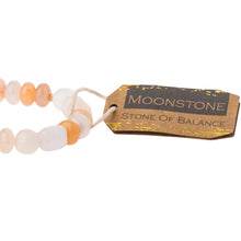 Load image into Gallery viewer, Moonstone Stone Bracelet - Stone of Balance