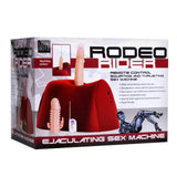 Rodeo Rider Remote Control Squirting and Thrusting Sex Machine