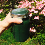 Take Your Green Smoothie Anywhere You Go with a Wide Mouth Cuppow Mason Jar Drinking Lid