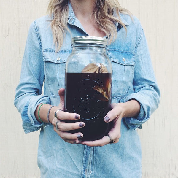 Make Cold Brew Coffee in a Mason Jar with the CoffeeSock Cold Brew Kit