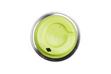 Cuppow reusable mason jar drinking sipping lid wide mouth Chartreuse designed for coffee smoothies and cocktails