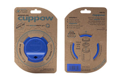 Cuppow drinking lid regular mouth denim sipping lid